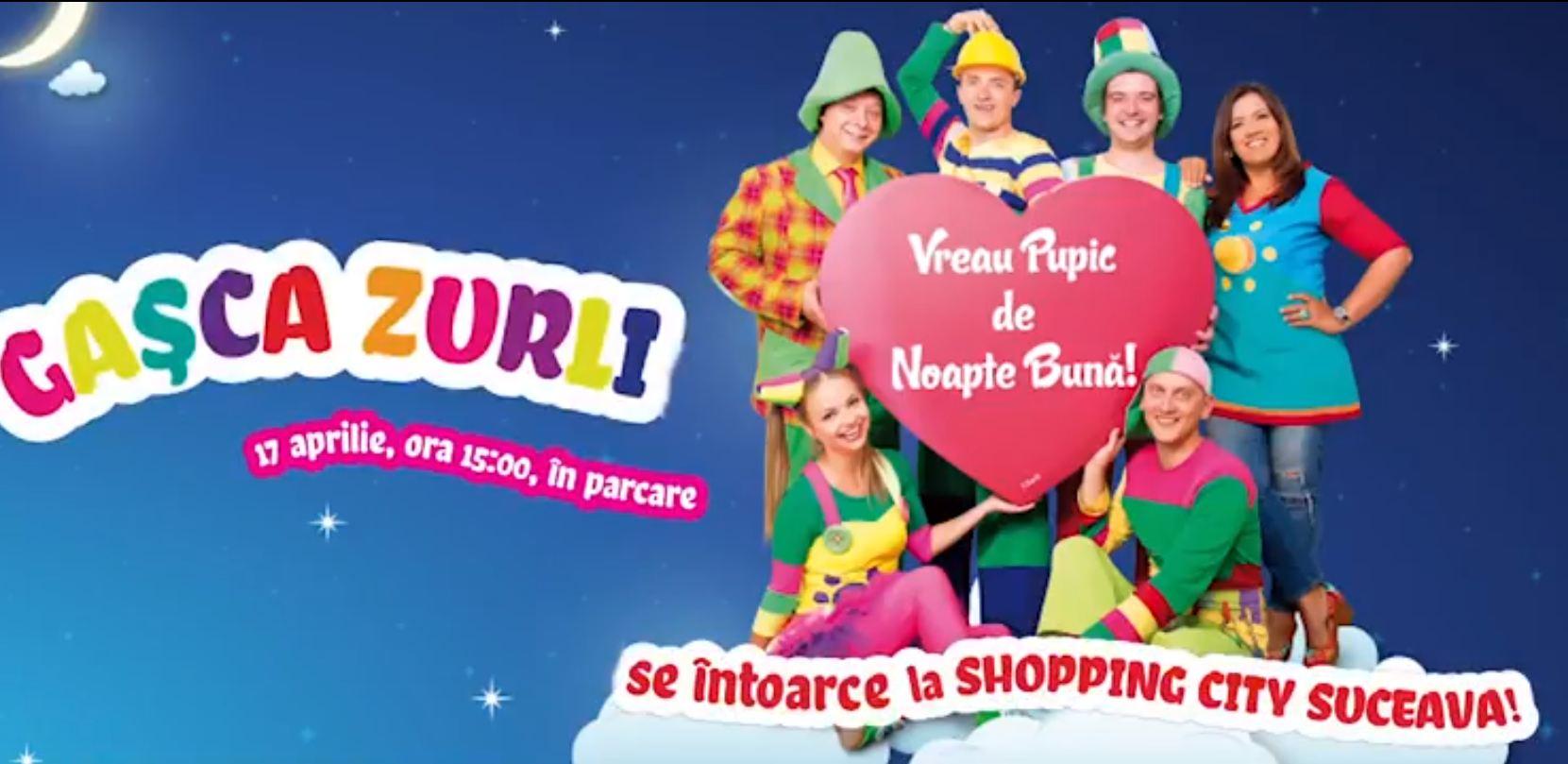 Gasca Zurli la Shopping City Suceava