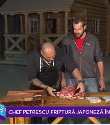 Bucătărim și cadre aeriene pentru Chef Petrescu