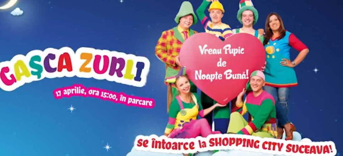Gasca Zurli la Shopping City Suceava
